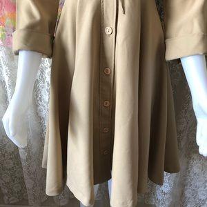 Vintage Jackets & Coats - 1970s VINTAGE TRENCH COAT